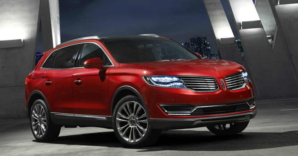2016 Red Lincoln MKX