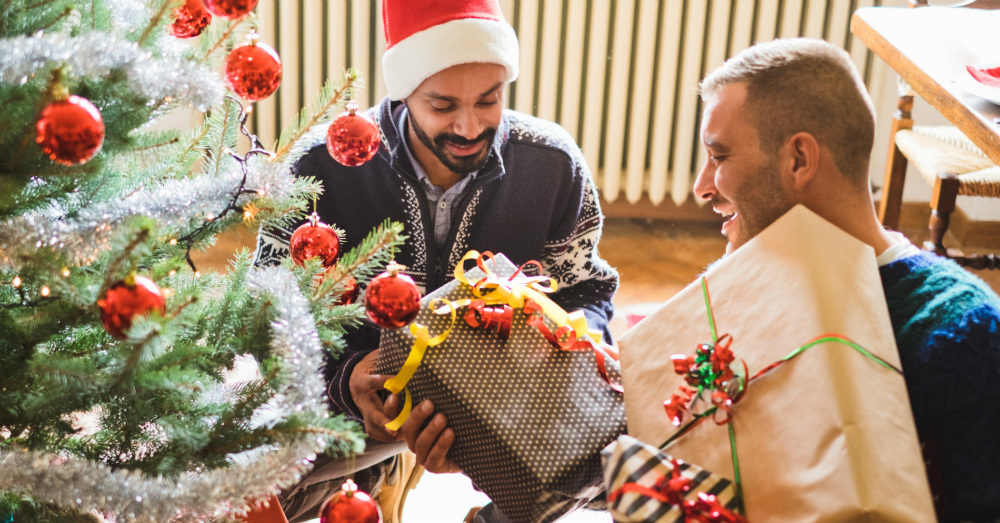 12.20.16 - Men With Christmas Gifts