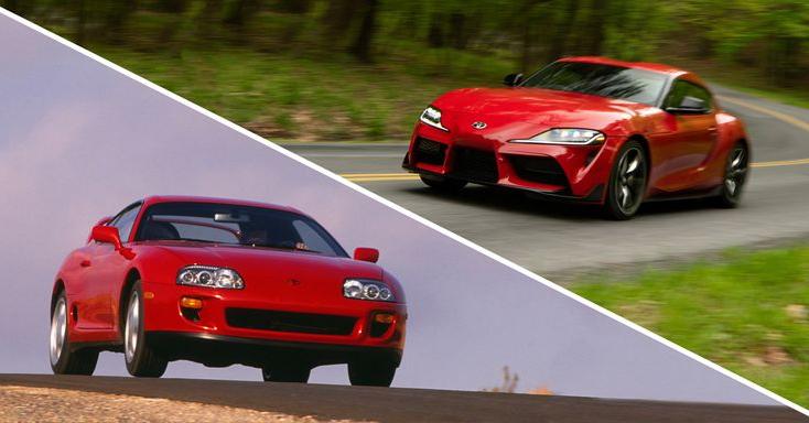 New Supra vs Old Supra - Toyota Sports Car Comparison