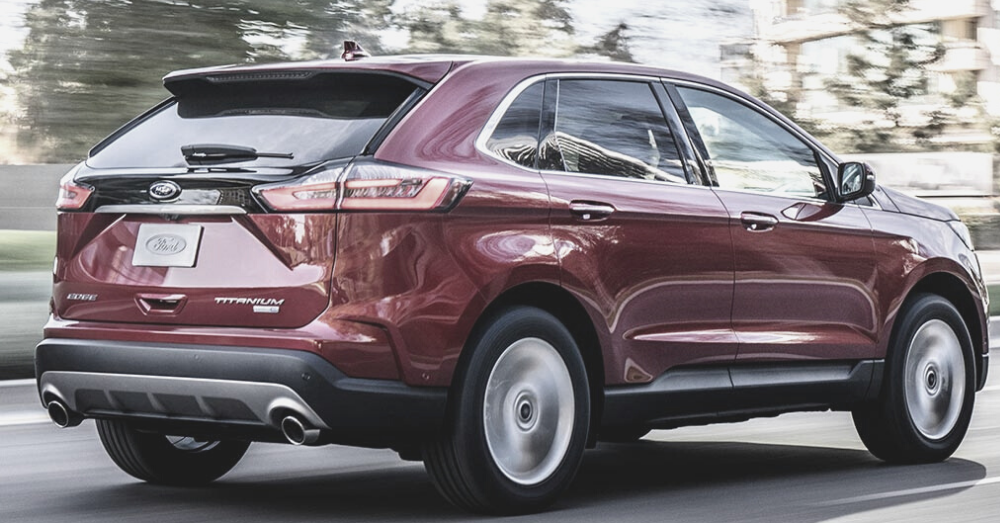 The Near-Luxury Appeal of the Ford Edge