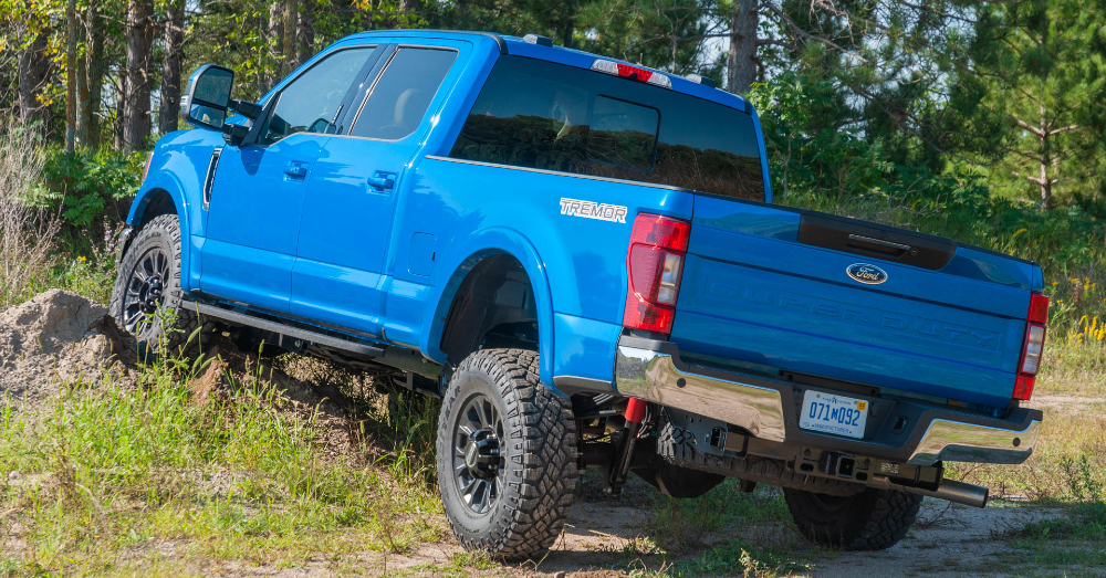 Ford Sends the Super Duty on the Trails