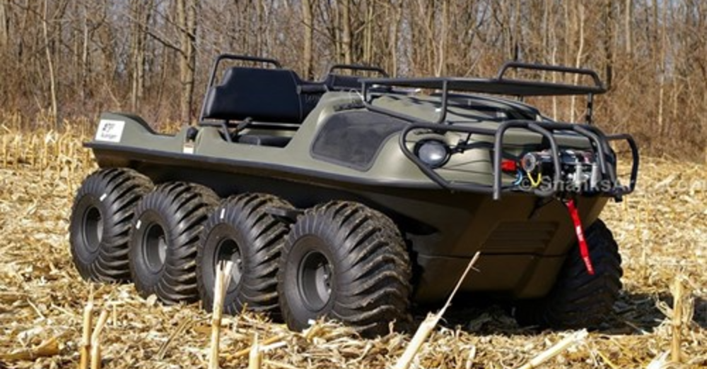 Explore More with an Argo Avenger 8x8 ST