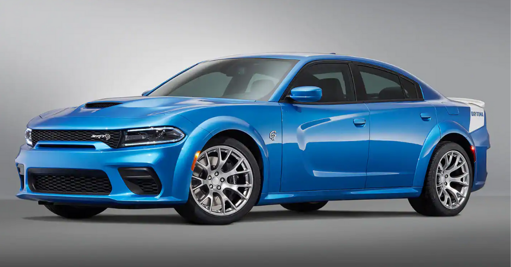 The Upgraded Charger from Dodge