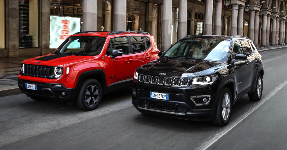 Jeep is Electrifying the Renegade and Compass